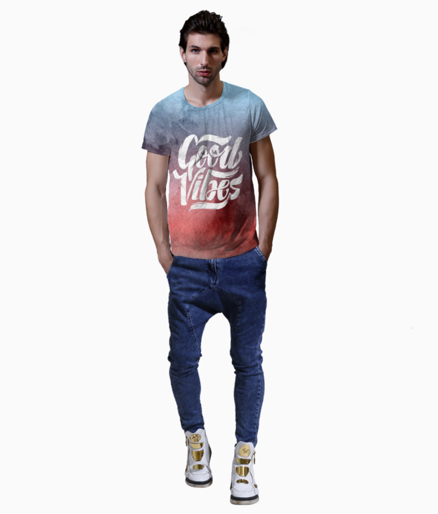 Good vibes t shirt front