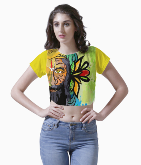 Untitled 1 crop top front