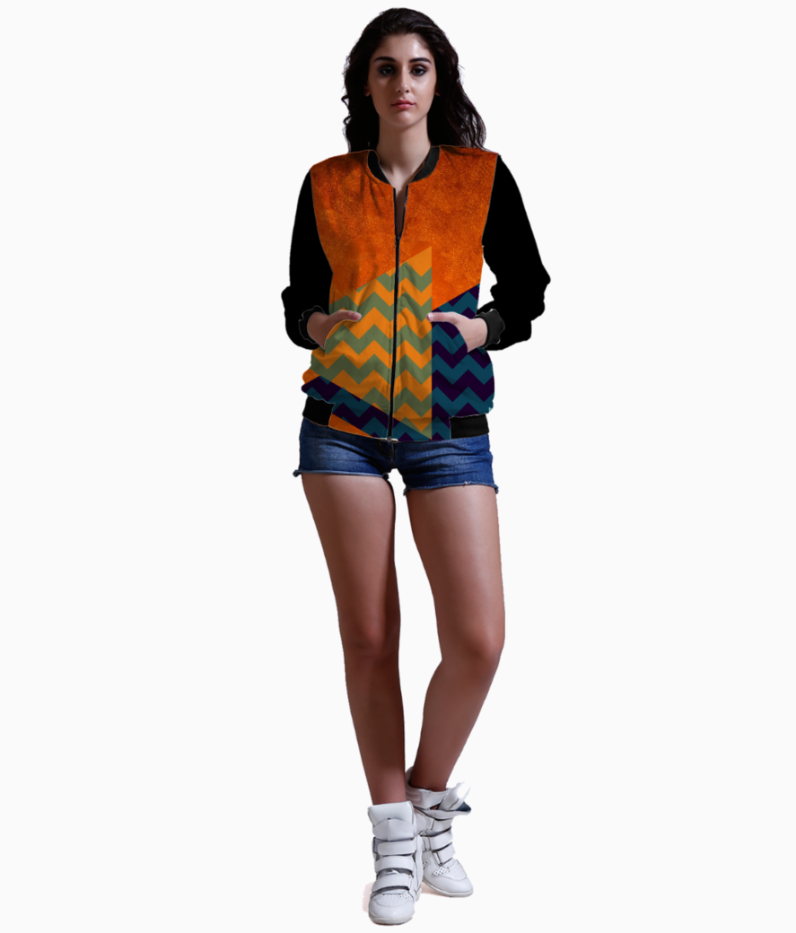 Fox for funkilicious bomber front