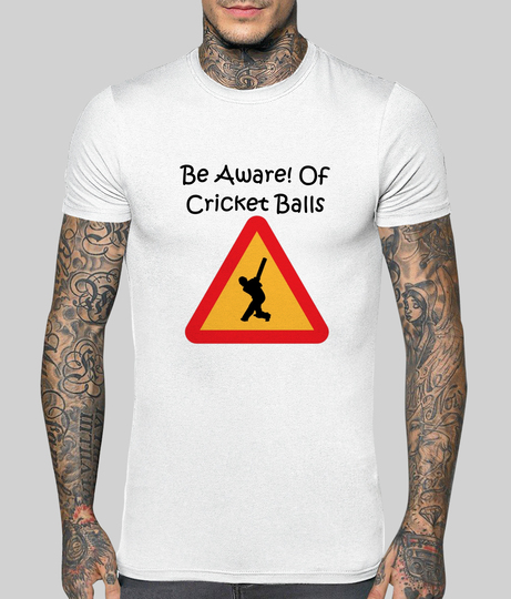 Be aware of cricket balls front