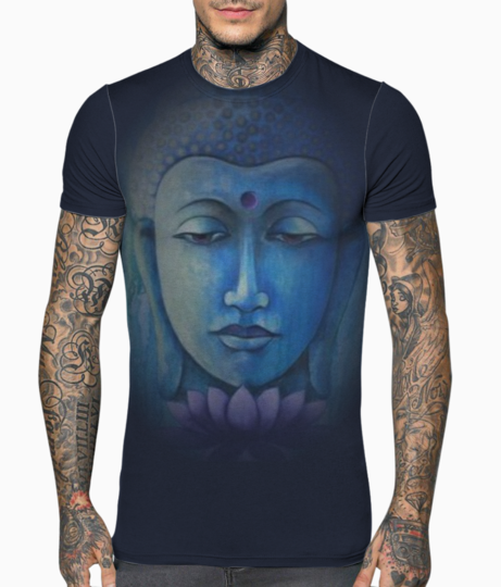 Buddha  mirrior t shirt front