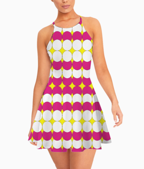 Graphic2 summer dress front