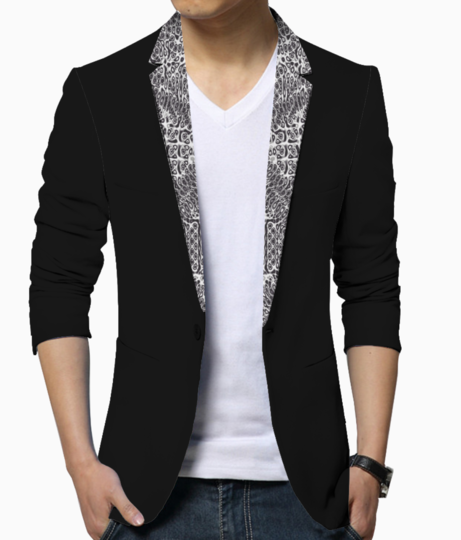 Multi line men's blazer front