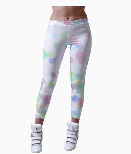 K leggings front