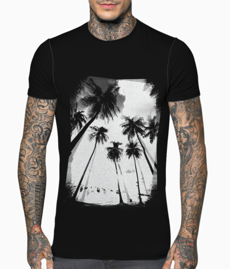 Sun and sand t shirt front