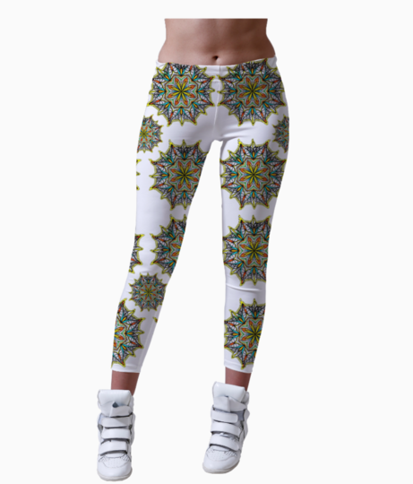 Rangoli leggings front
