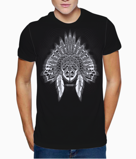 Tribal t shirt front