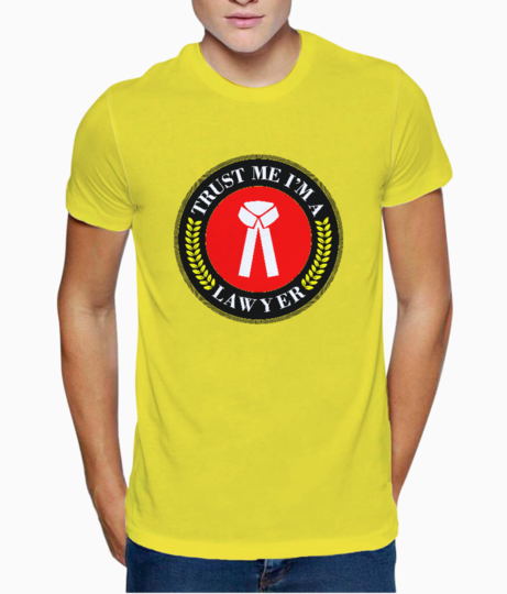 Trust me im a lawyer t shirt front