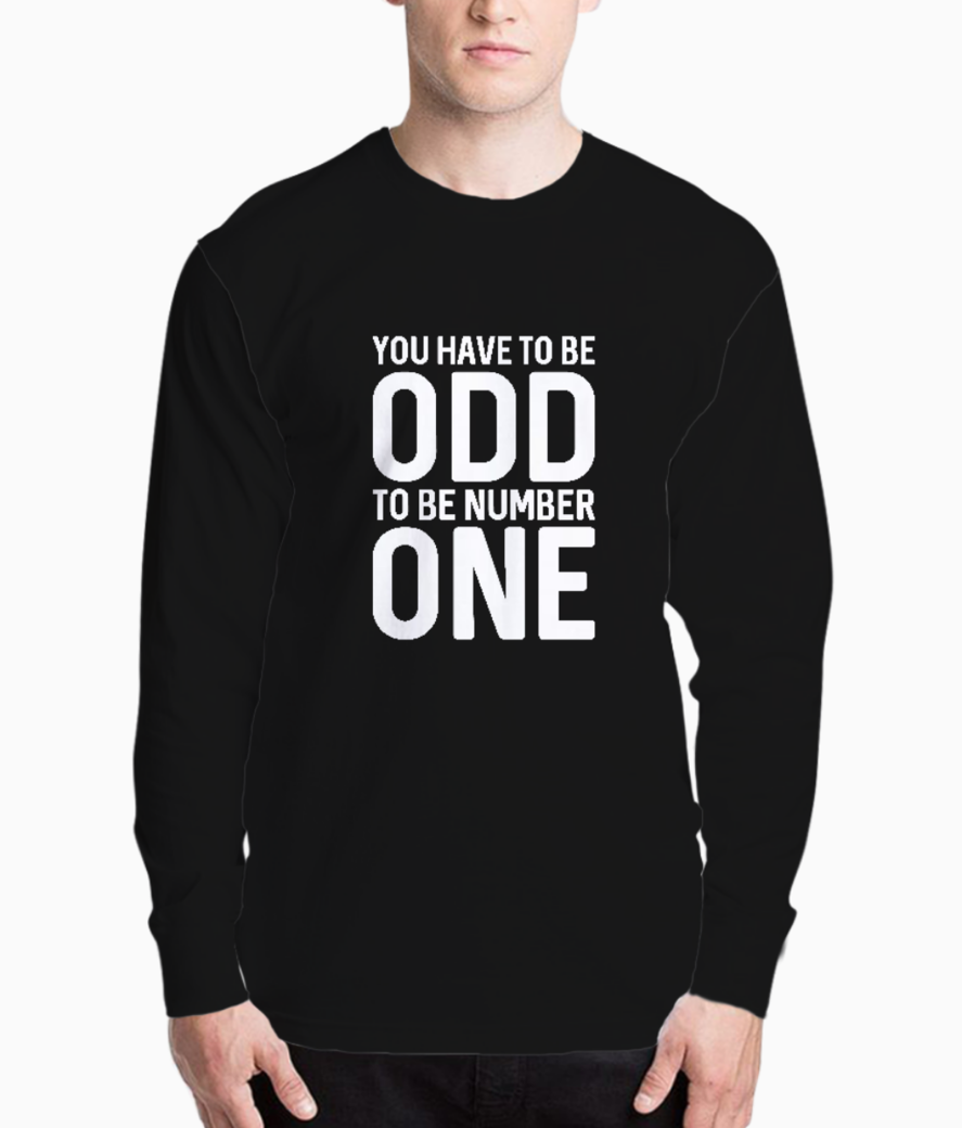 Odd one typography henley front