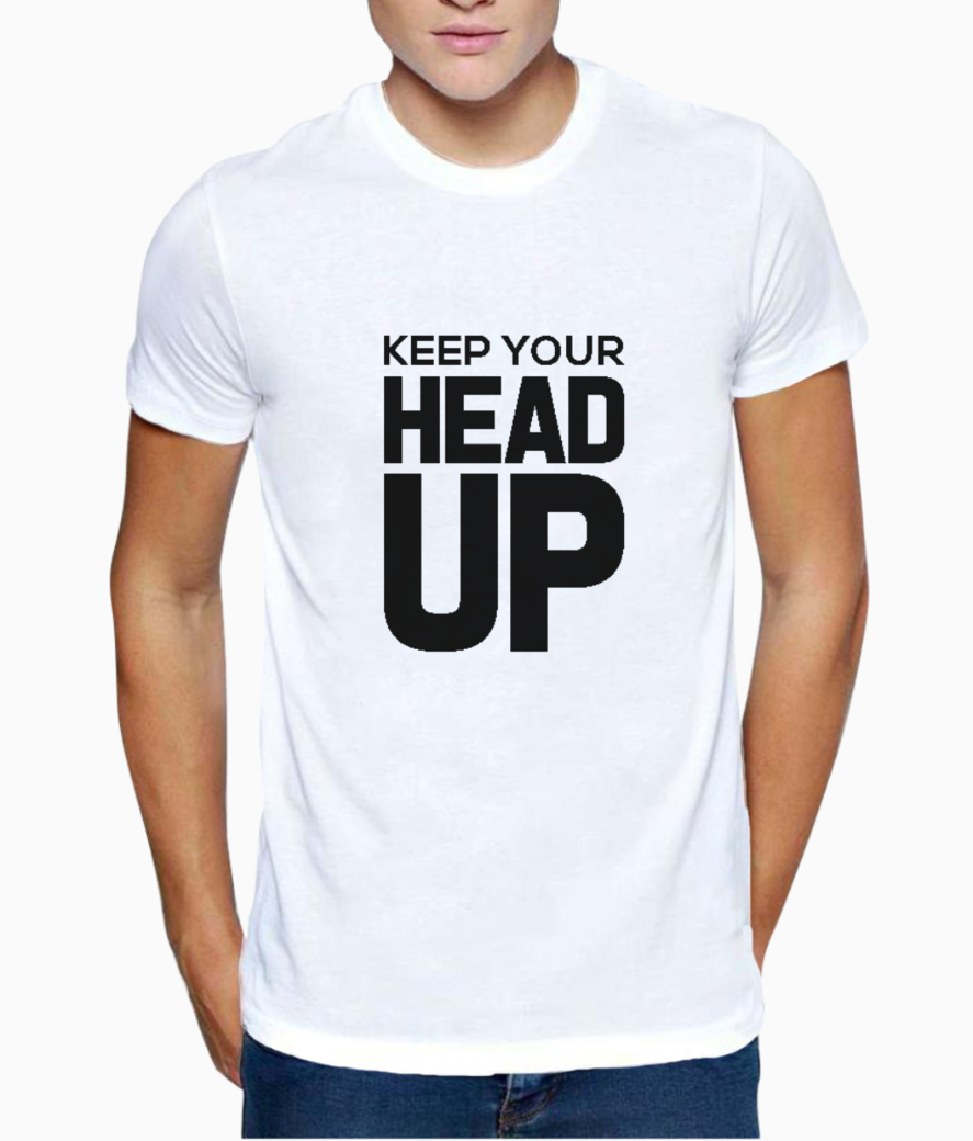 Head up t shirt front