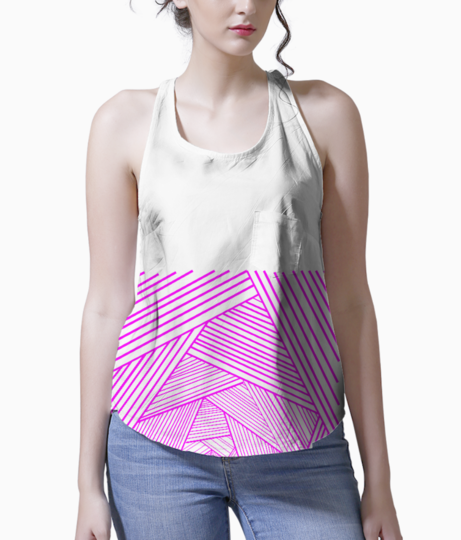 Placement print 2 tank front