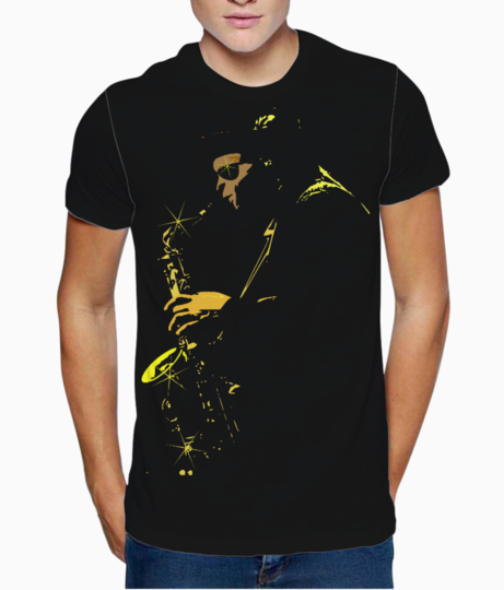 Jazz t shirt front