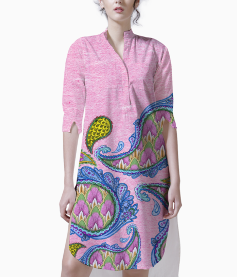 Indian pattern 2 kurti front