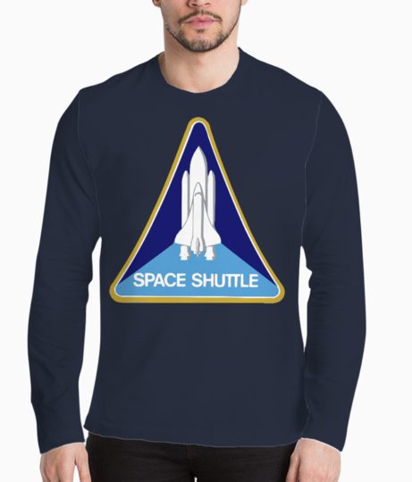 Space shuttle henley front