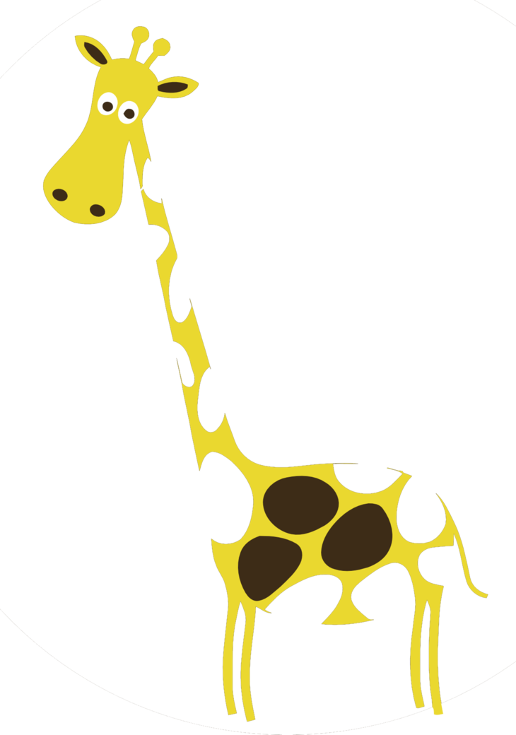 Brown giraffe