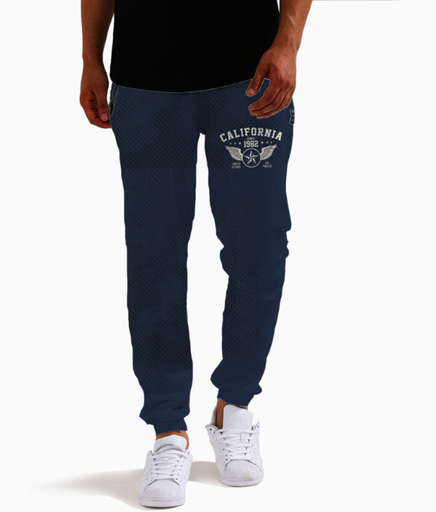 Grunge day joggers front
