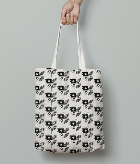 Bird tote bag front