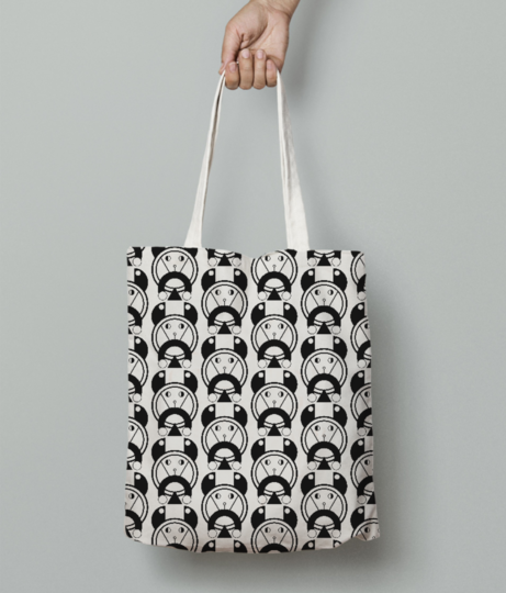 Pet dog tote bag front