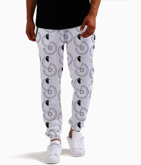 Snake joggers front