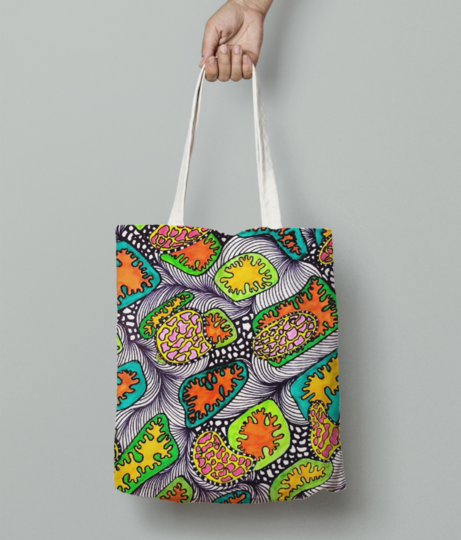 Texture %28h%29 tote bag front