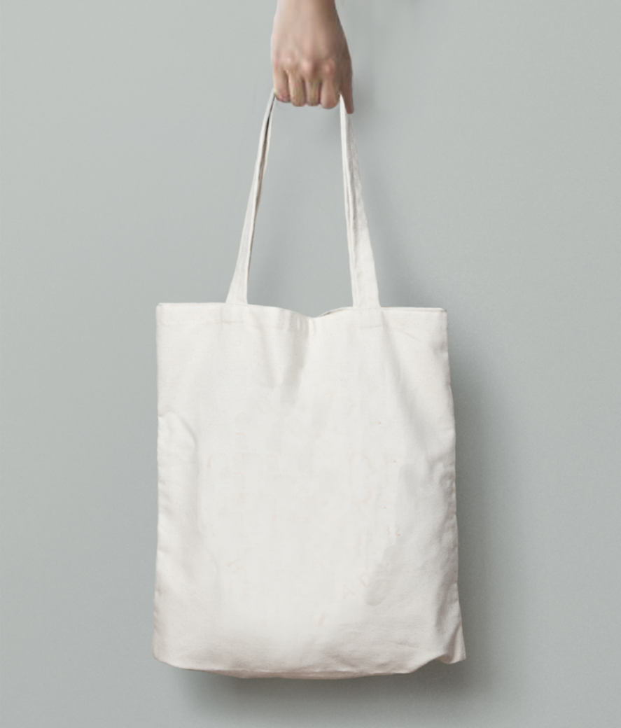 Do it well tote bag back