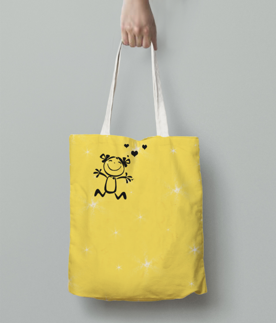 As tote bag back