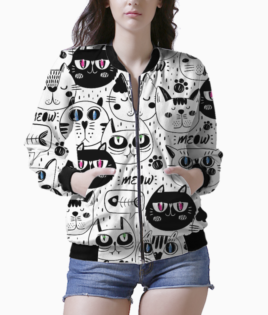 Meow 1 bomber front