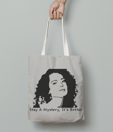 Retro   mystery tote bag front