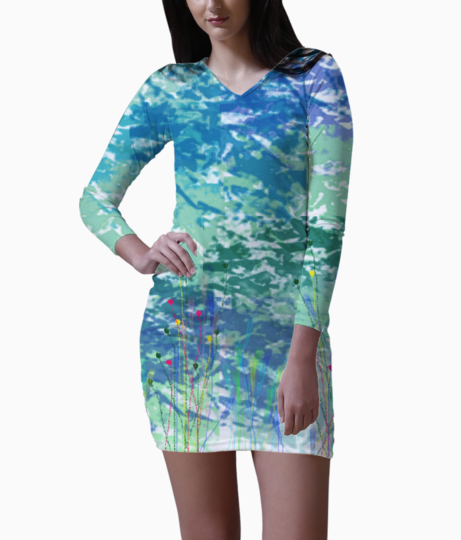 Untitled 1 bodycon dress front