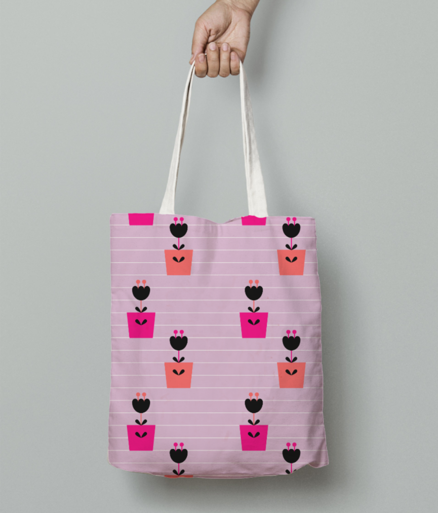 Pottedblooms tote bag front