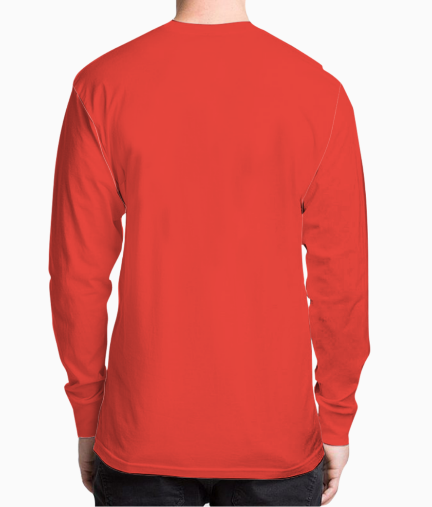 Zero fox henley back