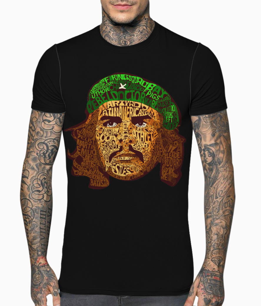 Che actual png main t shirt front