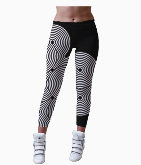 Artlife clock leggings front