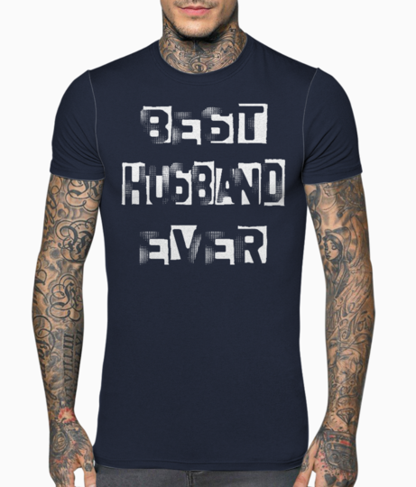 Best husband ever white t shirt front
