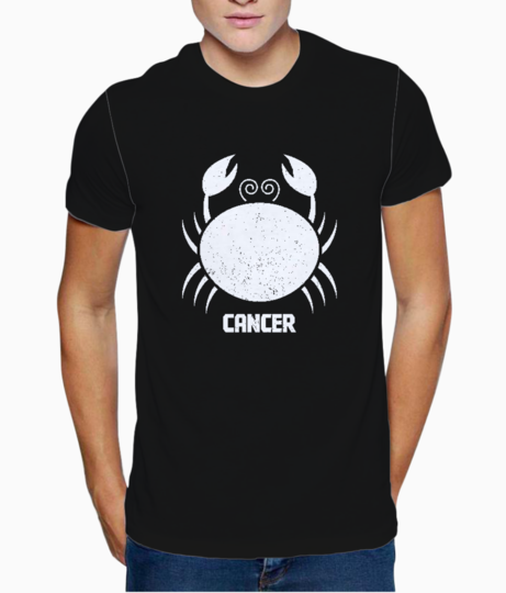 Cancer sign t shirt front