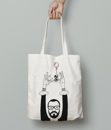 Self %282%29 tote bag front