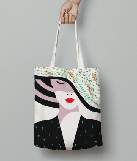 Untitled 3 tote bag front