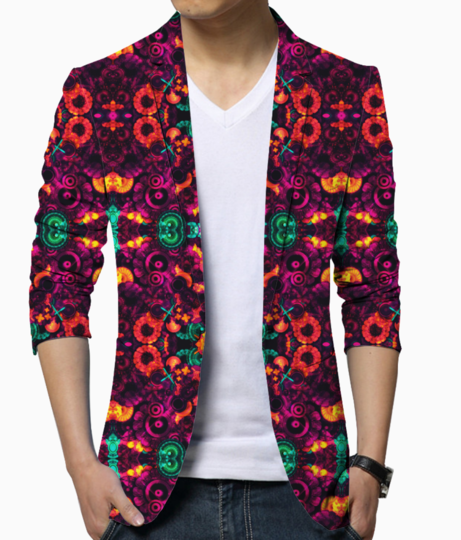 Abstraction blazer front