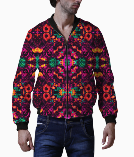 Abstraction bomber front