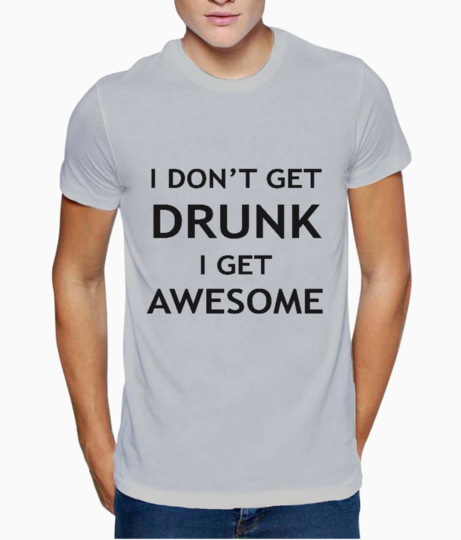 Awesome b t shirt front