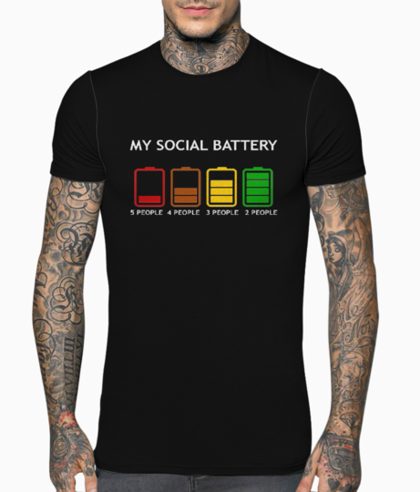 Battery w t shirt front
