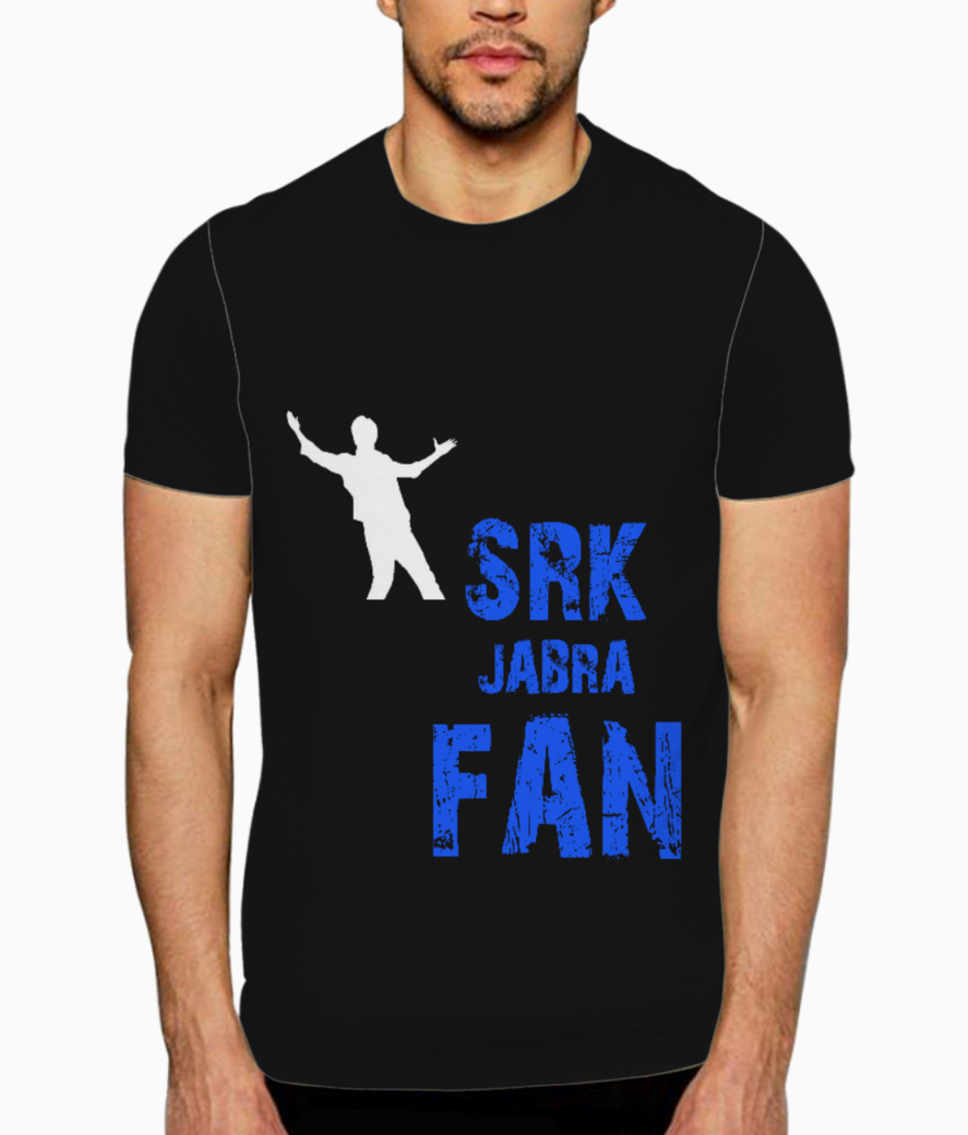 Srk fan t shirt front