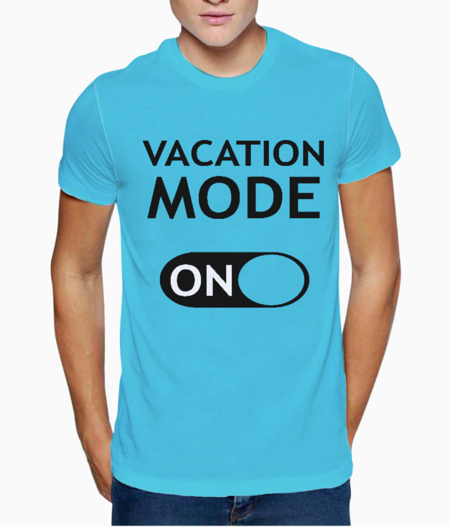 Vacation b t shirt front