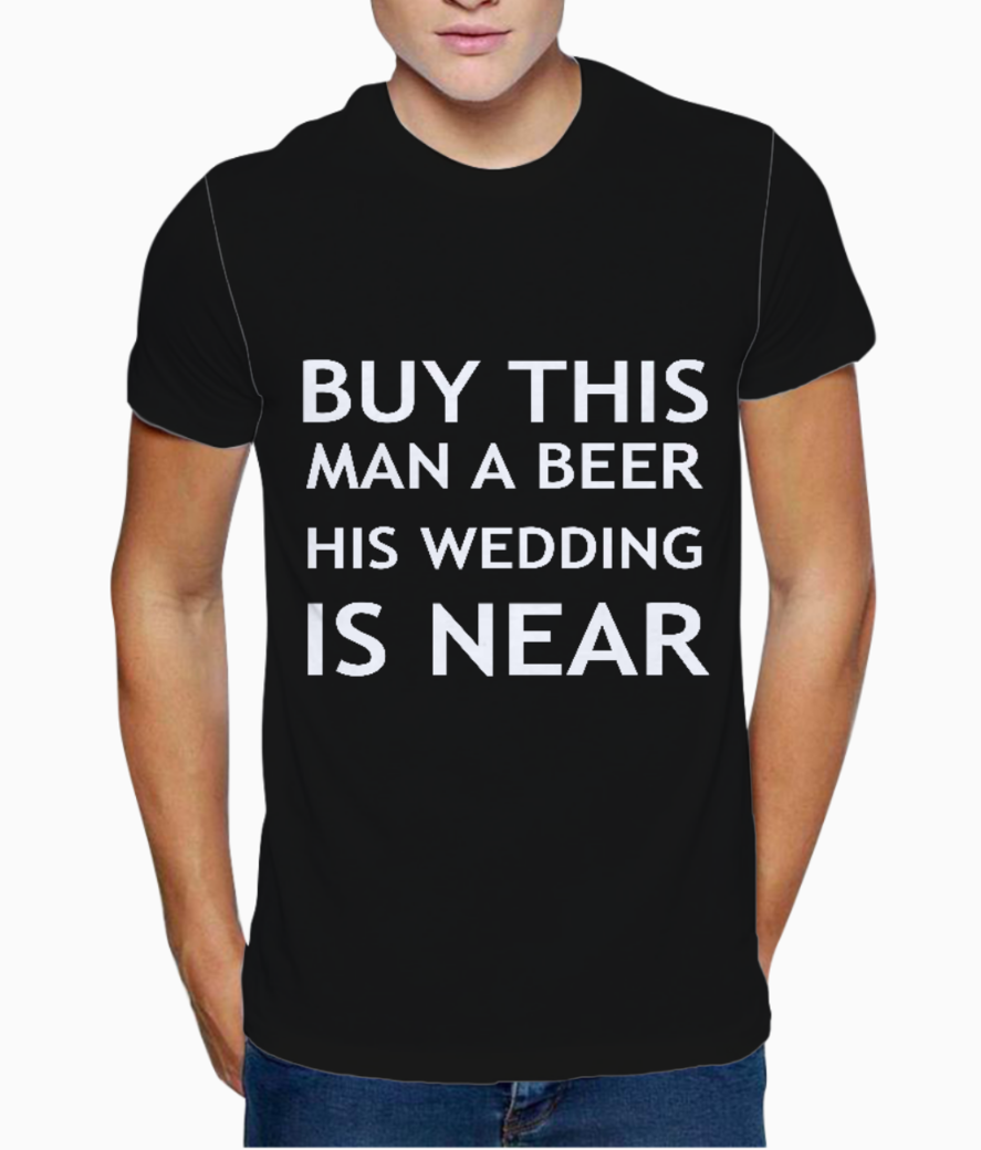 Wedding t shirt front