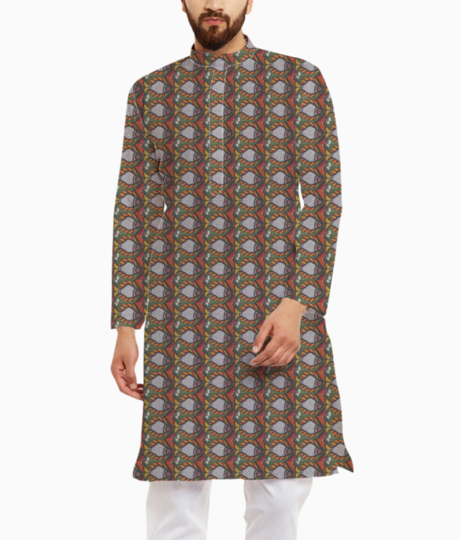 Fishy kurta front