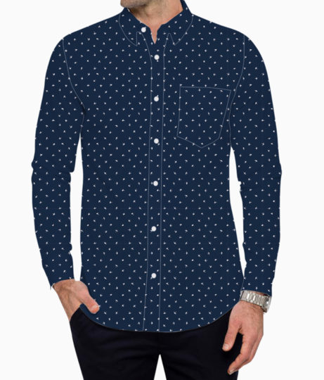 Patter 2 basic shirt front