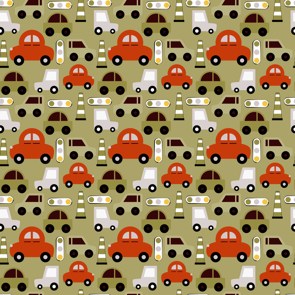 Toy cars pattern
