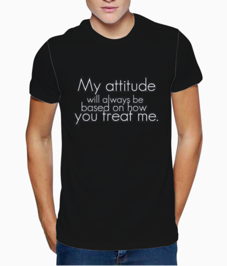 Best attitude status for whatsapp in one line sms 1 t shirt front