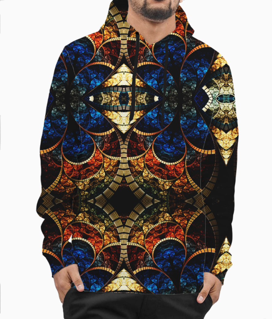 Artistic style hoodie front