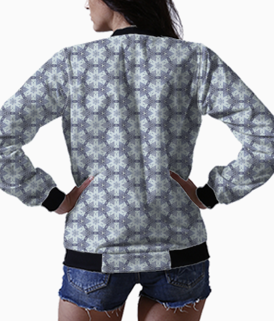 Coffe bean bomber back